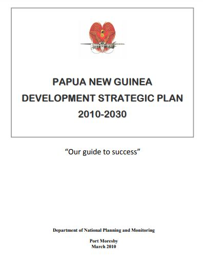 papua new guinea strategic plan