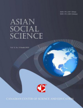Asian Social Science