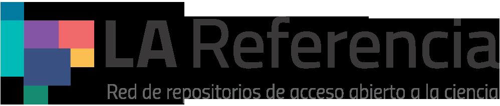 Logotipo do La Referencia com link externo para exibir a página da Revista no indexador