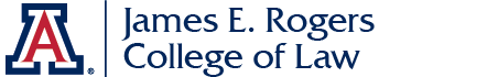 The University of Arizona James E. Rogers College of Law logo