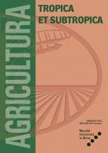 Agricultura Tropica et Subtropica