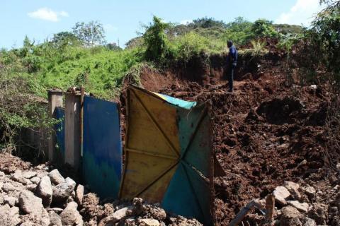 star kenya demolished school