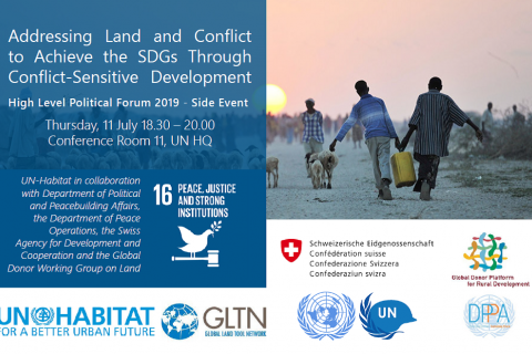 Addressing Land and Conflict to Achieve the SDGs Through Conflict-Sensitive Development