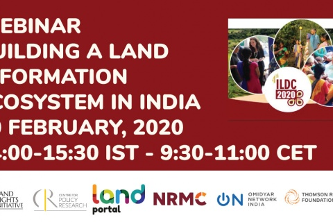 Webinar on Building an Information Ecosystem in India