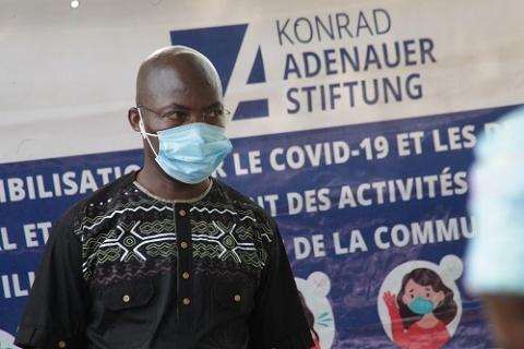 Dramani Ouedraogo, coordonnateur de la fondation konrad adenauer