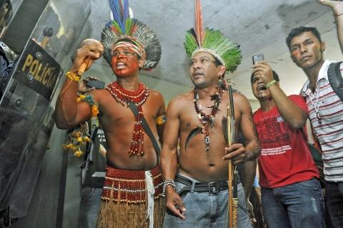 indigènes bresil