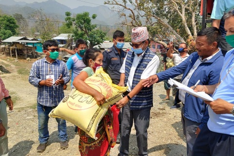 Nepal's Belaka Municipality uses STDM to identify vulnerable families during COVID-19 pandemic