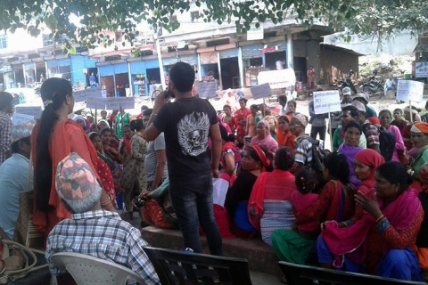 History of land rights movement in Nepal