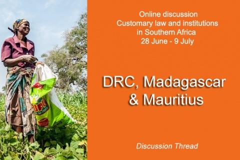 DRC, Madagascar & Mauritius
