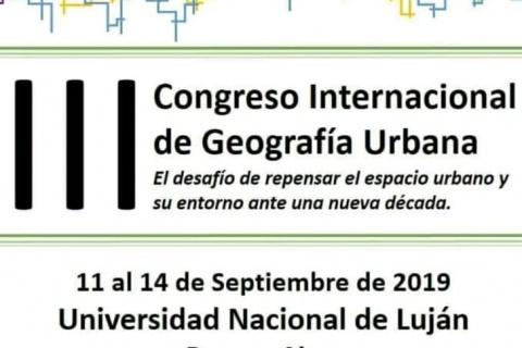 Congresso Geografia Urbana
