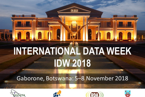 International Data Week 2018 (IDW 2018)