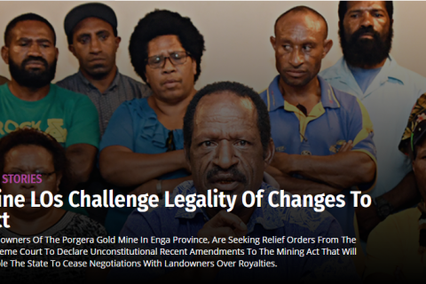 Mine LOs ChallengeLegality of changes to act