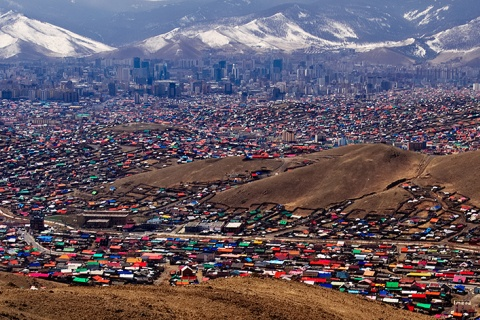 Ulaanbaatar - The Ger District, photo by Bob Glennan, CC BY-NC-ND 2.0 license
