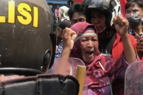 Land conflicts escalate with spread of COVID-19 in Indonesia