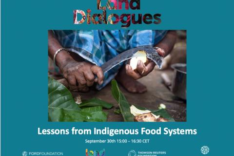 Lecciones de los Sistemas Alimentarios Indígenas