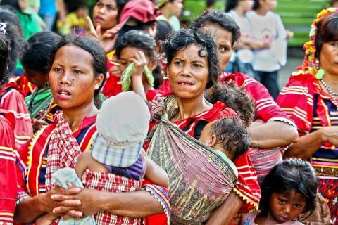 Indigenous women in Davao City, Philippines. Photo by Bro. Jeffrey Pioquinto, SJ/Flickr