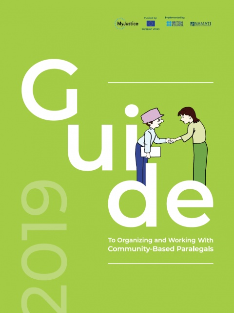 Guide to Organizing and Working with Community-based Paralegals
