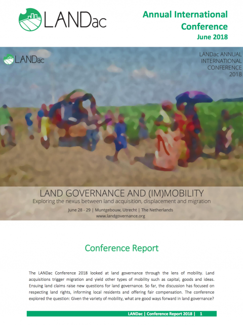 LANDac Annual Conference 2018: Conference Report cover image