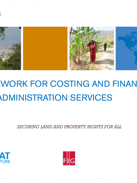 Framework for Costing and Financing Land Administration Services (CoFLAS) cover image