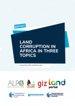Land corruption in Africa