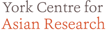 York Centre for Asian Research logo