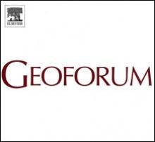 Geoforum journal logo