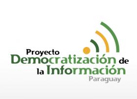 Iniciativa por la Democratización de la Comunicación en el Paraguay logo