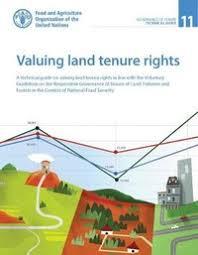 valuing land tenure